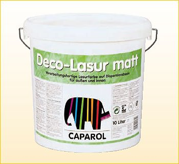 Лессирующая краска Capadecor Deco Lasur Matt 2.5л